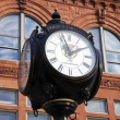 Stock Photo: Historic street clock in Peoria