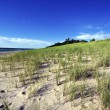Stock Photo: Sand Dunes by shore of Lake Michigan