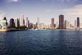 Panorama of Chicago — Stock Photo