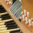 Organs in church — Stock Photo