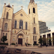 Sacred Heart Church in the center of Peoria — Stock Photo