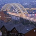 Bridge in Cincinnati — Stock Photo #8196933