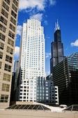 Office buildings in Chicago — Stock Photo