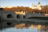 Manzanares River in Madrid — Fotografia Stock
