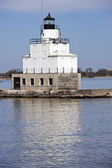 Lighthouse in Manitowoc — Foto Stock