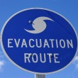 Evacuation Route — Foto Stock