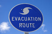 Evacuation Route — Stock Photo