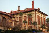 Arquitetura histórica de santo agostinho - faculdade de flagler — Foto Stock