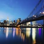 Cincinnati seen accross Ohio River — Stock Photo #9198331