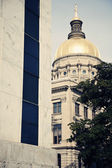 State Capitol Building in Atlanta — Stock Photo