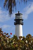Key Biscayne lighthouse — 图库照片