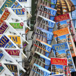 Rome guidebooks — Stock Photo