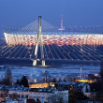 The National Stadium in Warsaw, Poland — Stock Photo #9800179