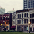 Historic downtown of Louisville — Stock Photo
