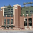 Lambeau Field in Green Bay, Wisconsin — 图库照片