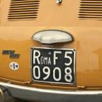 Постер, плакат: Fiat 500