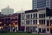 Historic downtown of Louisville — Stock Photo