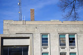 Grundy County administration builidng in Morris — Stock Photo