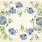 cartão com a rose. rosas de ilustração — Vetorial Stock