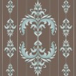 Seamless wallpaper pattern in vintage style. — Stockvektor