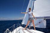 Under sail — Stock Photo