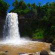 Stock Photo: Tropical waterfall.