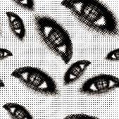 ハーフトーン目シームレスなベクトルの背景 — ストックベクタ