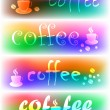 Vector coffee banners - Stock Vector