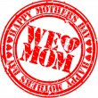Grunge Happy mother's day rubber stamp, vector illustration — 图库矢量图片 #9339870