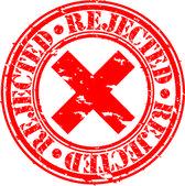 Grunge rejected rubber stamp, vector illustration — Stock Vector
