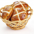 Stock Photo: Cross buns