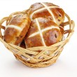 Cross buns - Stock Photo