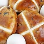 Cross buns — Stock Photo #9350065