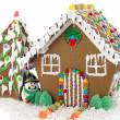 Gingerbread house — Stock Photo #9350096