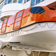 Lifeboats on a Cruise Ship — Stock Photo