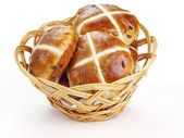 Cross buns — Stock Photo