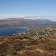 Stock Photo: Fort William and Loch Linnhe.