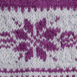 Knitting swatch — Stockfoto
