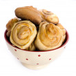 Stock Photo: Cinnamon buns