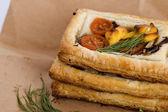 Vegetarian pies — Stock Photo