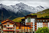 Gudauri ski resort in the summer. — Stock Photo