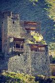 House-fortress in Satili (Georgia) — Stock Photo