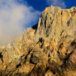 Rocks in Gudauri resort (Georgia) — Stock Photo