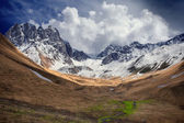 The area of mountain range Chaukhi (Georgia) — Стоковое фото