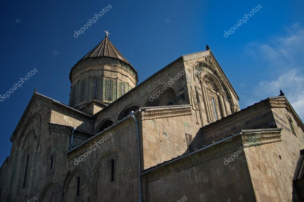 Svetitskhoveli monastery in Mtskheta, Georgia — Stock Photo #10703407