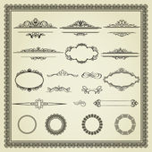 Set of design elements — Stockvector