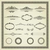 Verzameling van ontwerpelementen — Stockvector