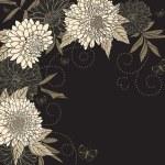 Постер, плакат: Floral frame