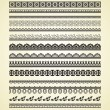Royalty-Free Stock Vector: Vintage borders