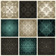 Royalty-Free Stock Vector Image: Set of seamless patterns